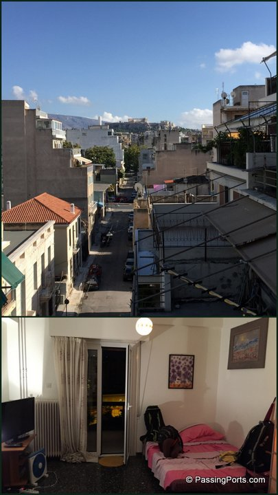 Airbnb Stay in Athens