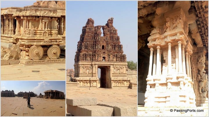 Temples in Hampi