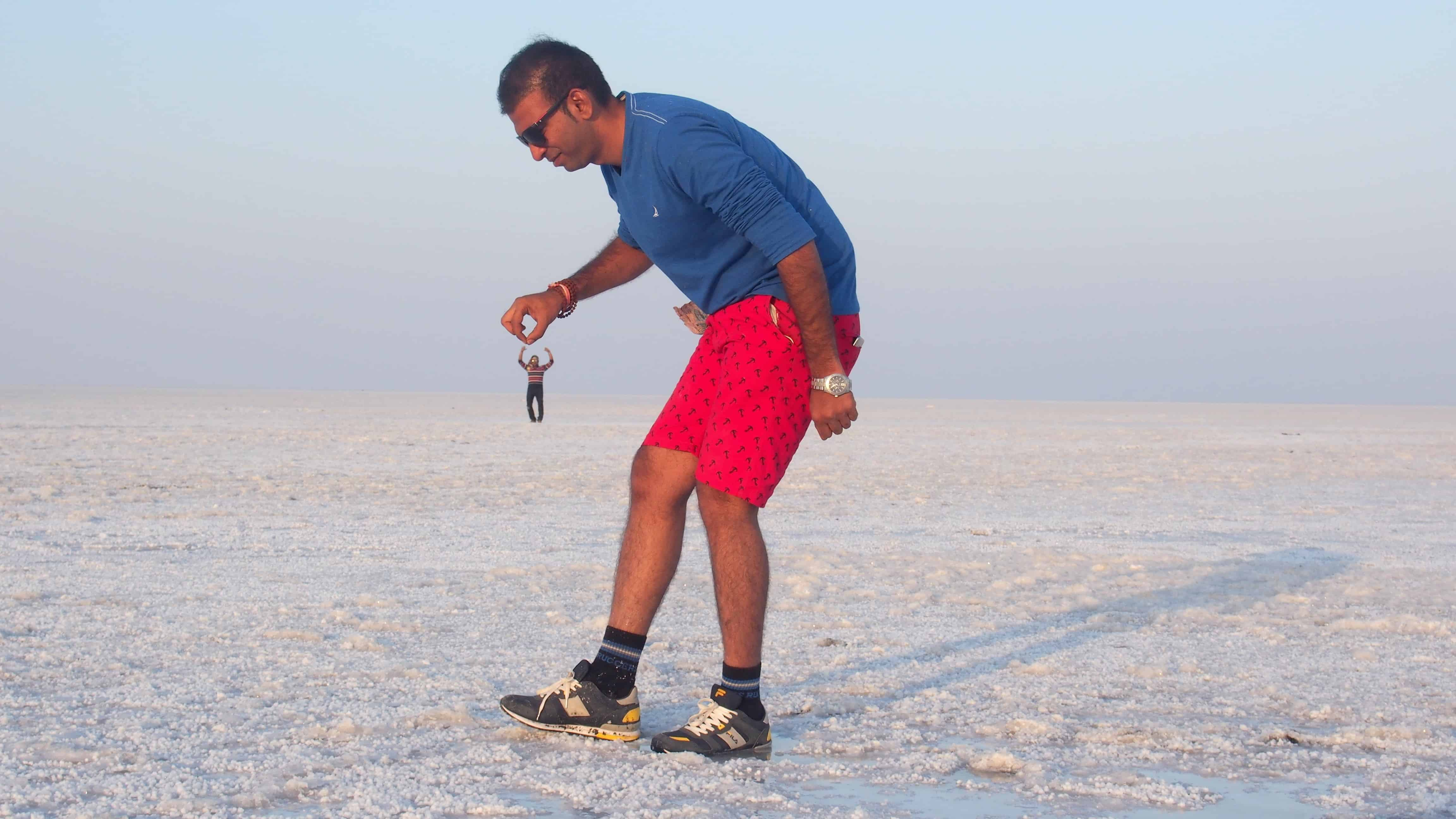 Fun in Rann of Kutch