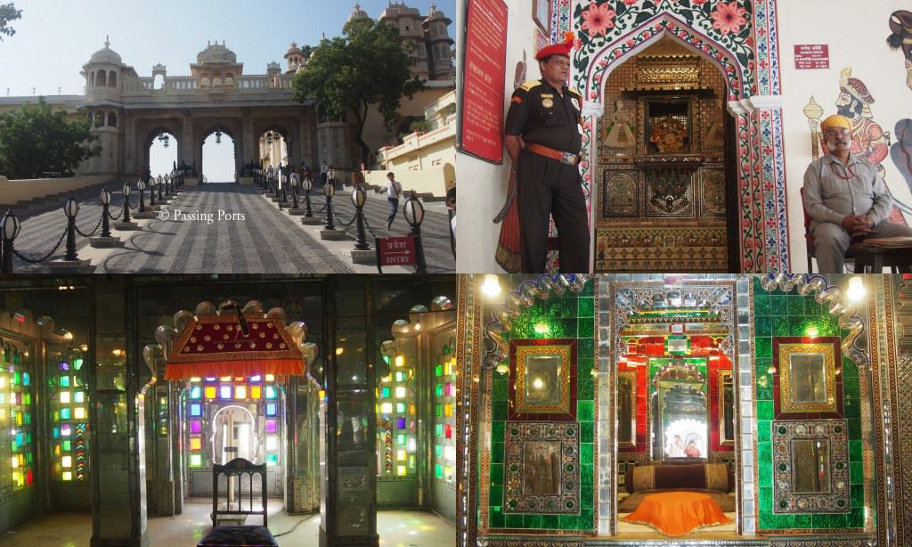 Inside the City Palace, Udaipur
