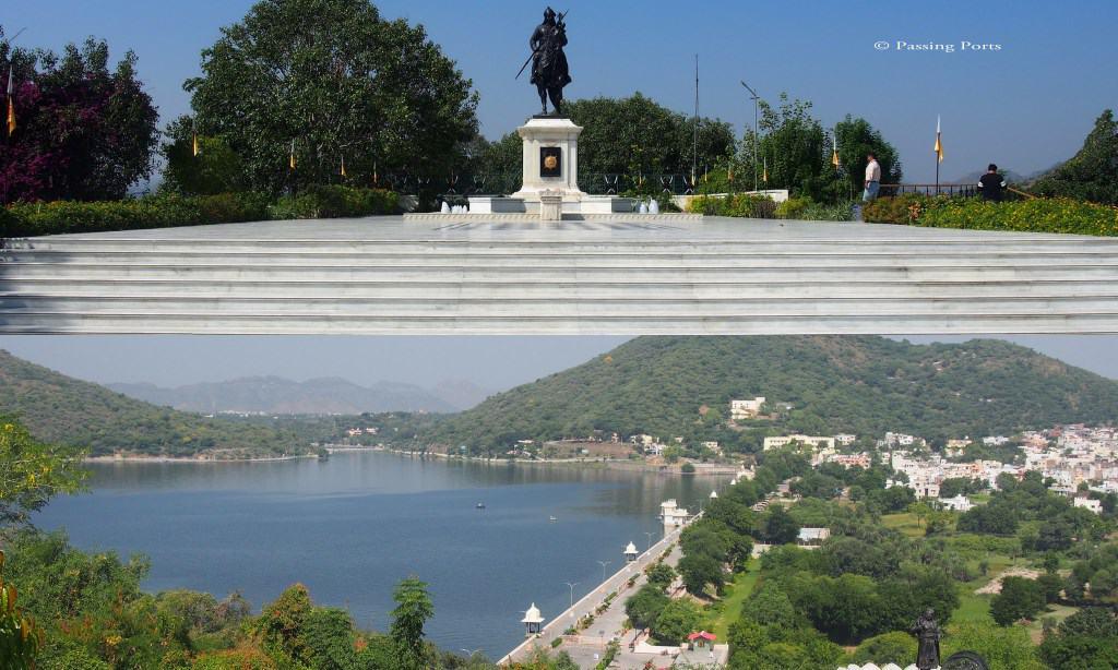 Maharana Pratap Statue in Moti Magri