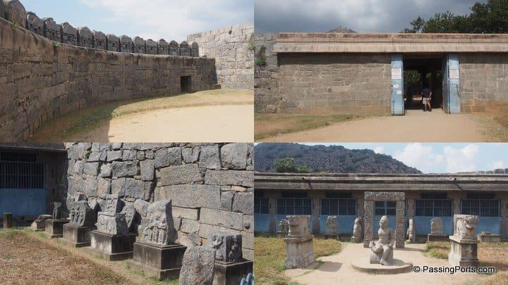 Gingee fort in Tamilnadu