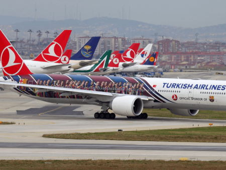 Here's how Turkish Airlines is handling the Electronics Ban