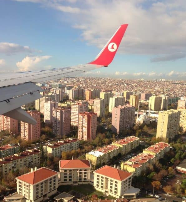 Electronics handling service Turkish airlines