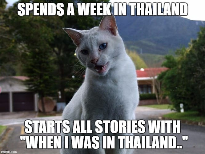 Spends a week Abroad