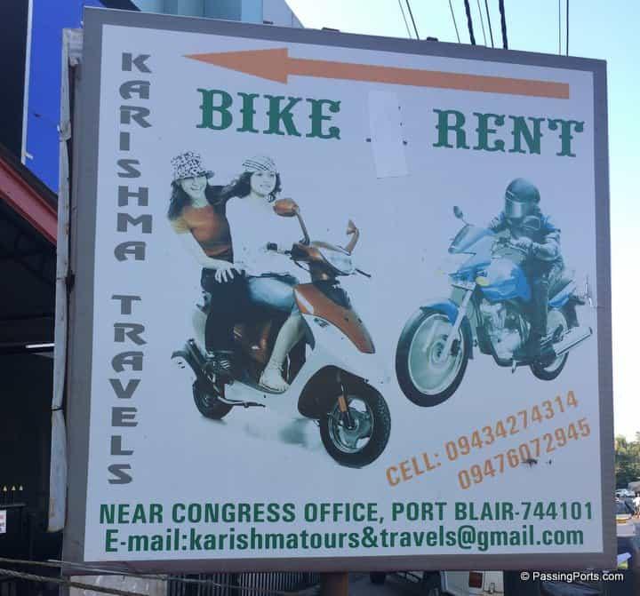 Rent two wheeler