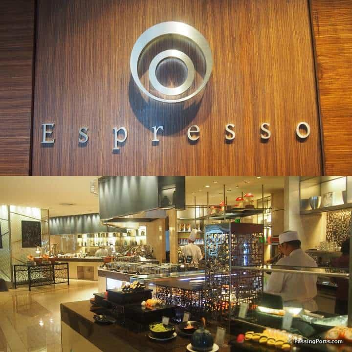 Espresso in ICC Bangkok