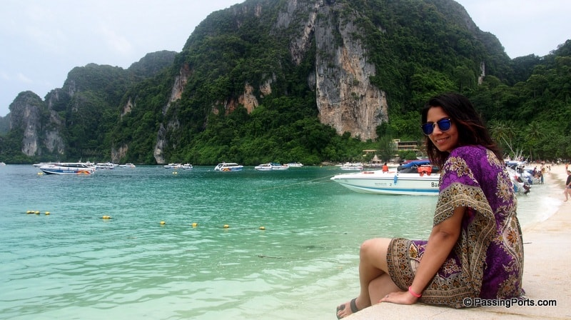 The beautiful Phi Phi