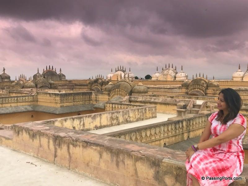 The Nahargarh Fort in Jaipur
