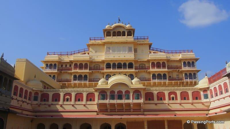 The city palace visit