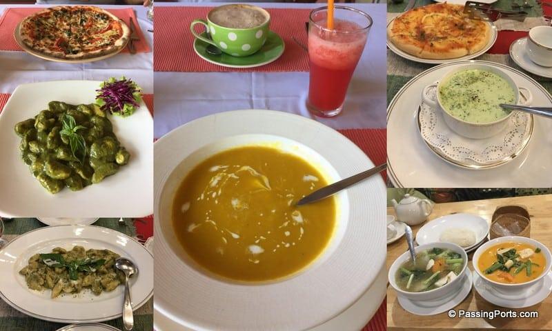 Yummy Vegetarian food in Chiang Mai