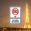 Did you know? It's illegal to take photos of the Eiffel Tower at night