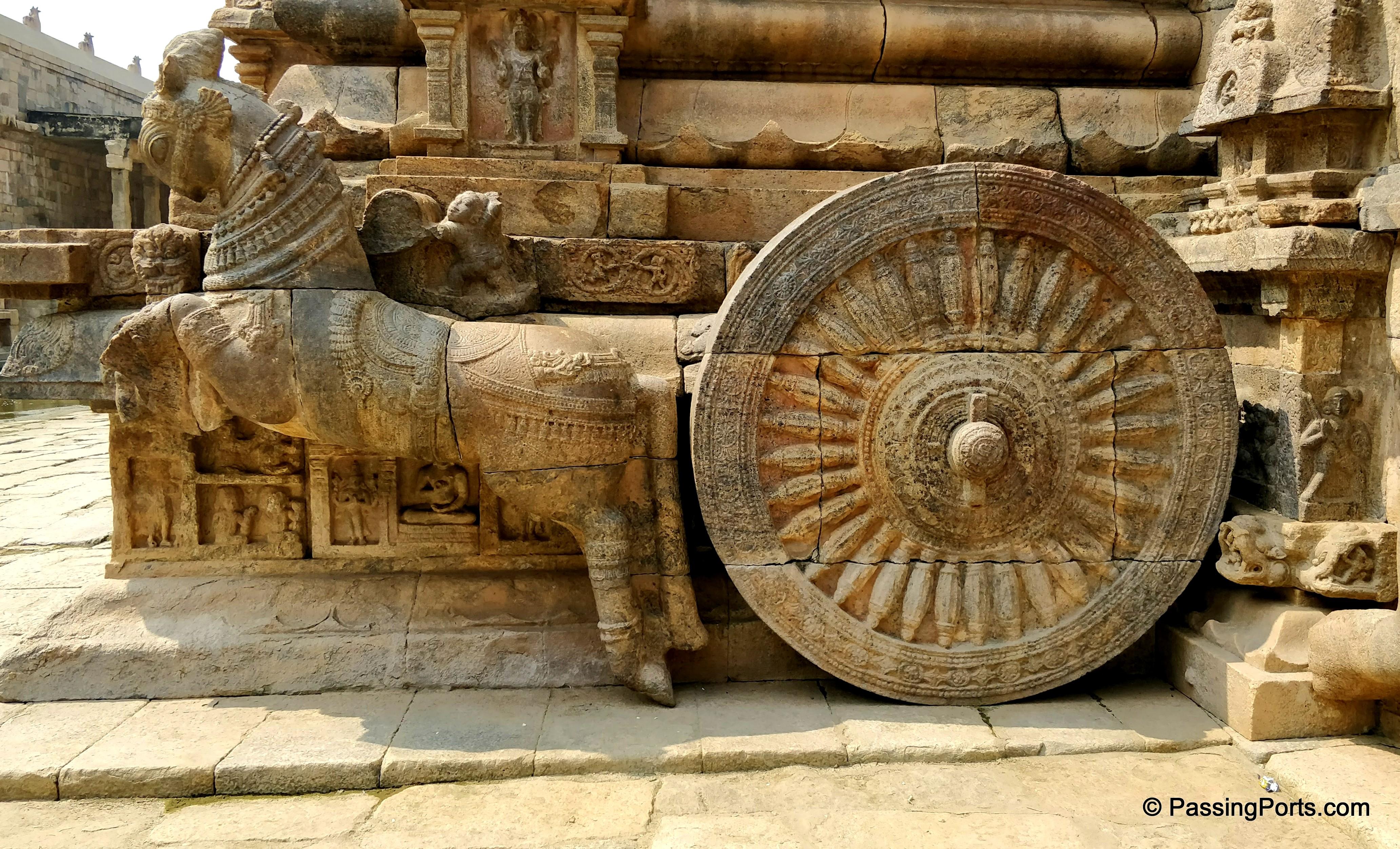 Chariot in Darasuram Temple