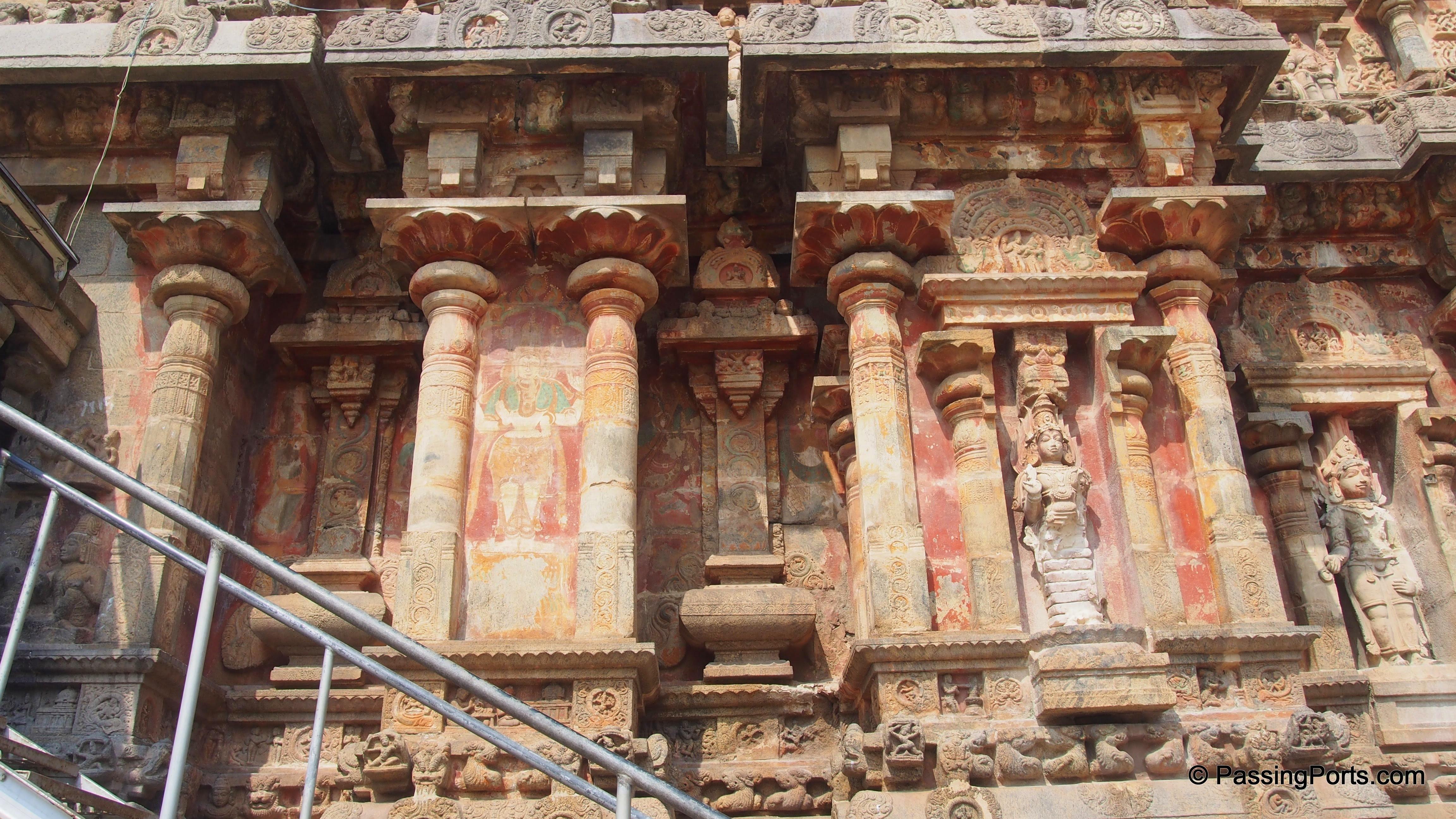 Painting in Darasuram Temple