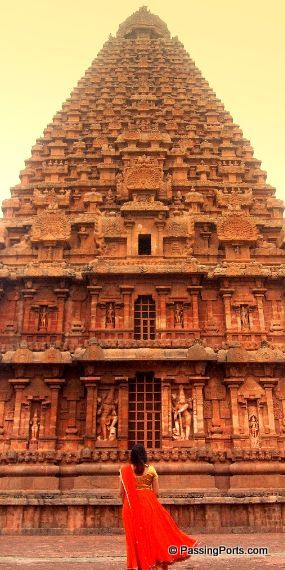 The amazing temple in Tanjore