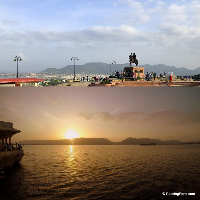 Ana Sagar Lake in Ajmer