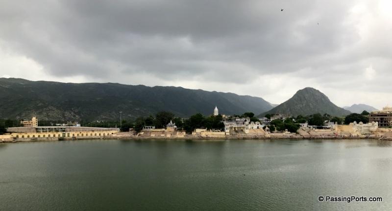 The holy lake in Pushkar