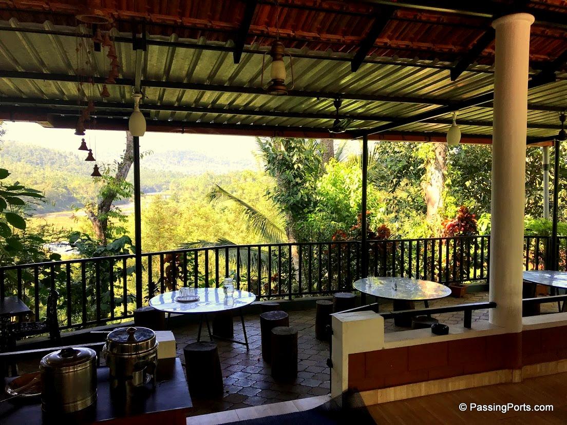Restaurant at Bynekaadu Homestay in Chikmagalur