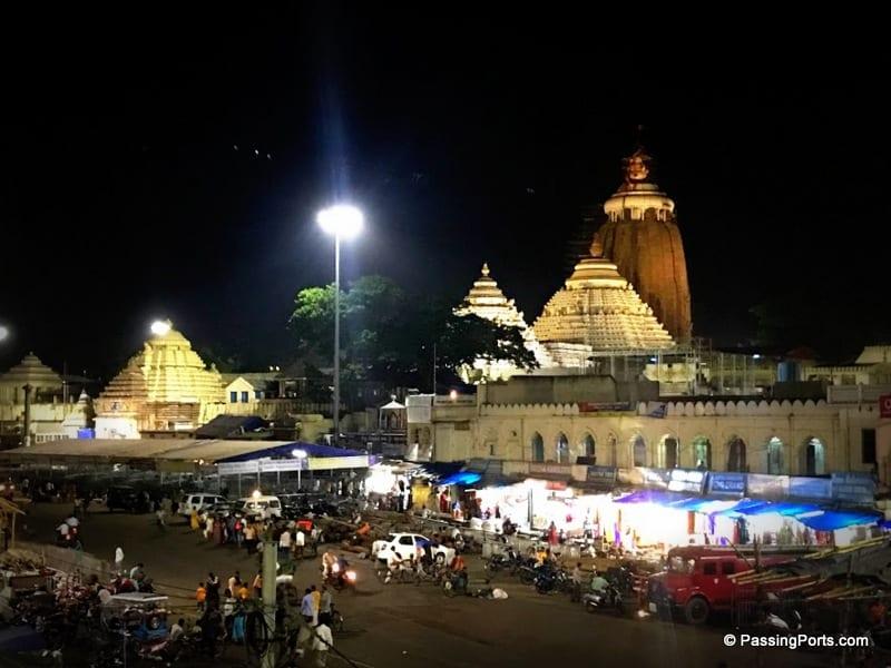 Outside of Puri Temple in Puri