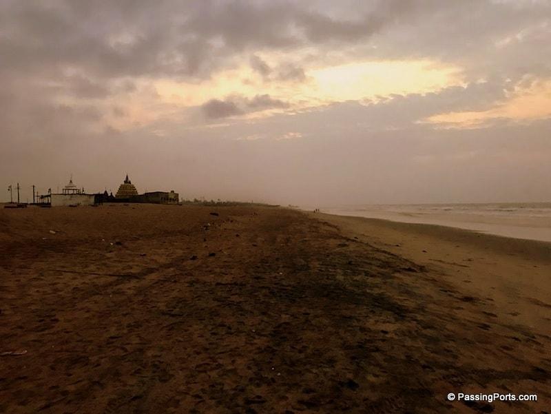 Beach in Konark Temple