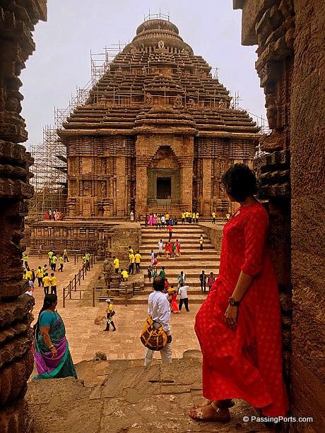 Konark Temple in Odisha