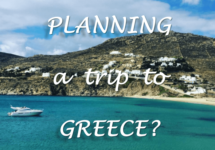 Plans to Greece