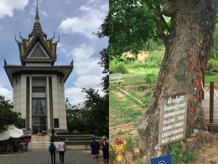 Killing fields and S21 Prison in Phnom Penh