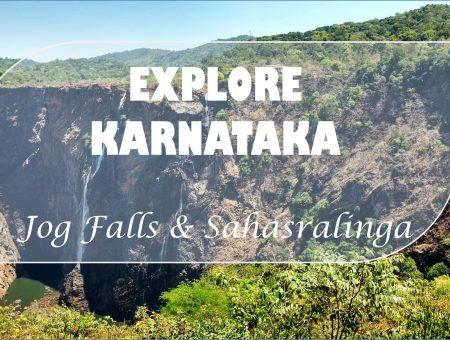 Jog Falls And Sahasralinga In One Day