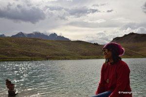lake in Spiti valley