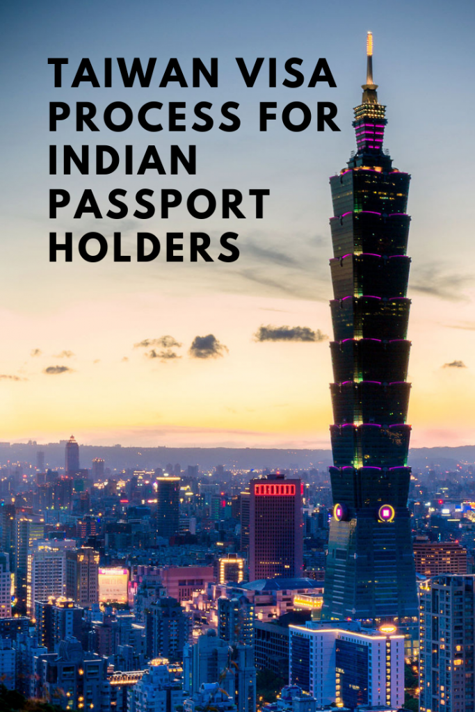 Taiwan visa for Indian citizens