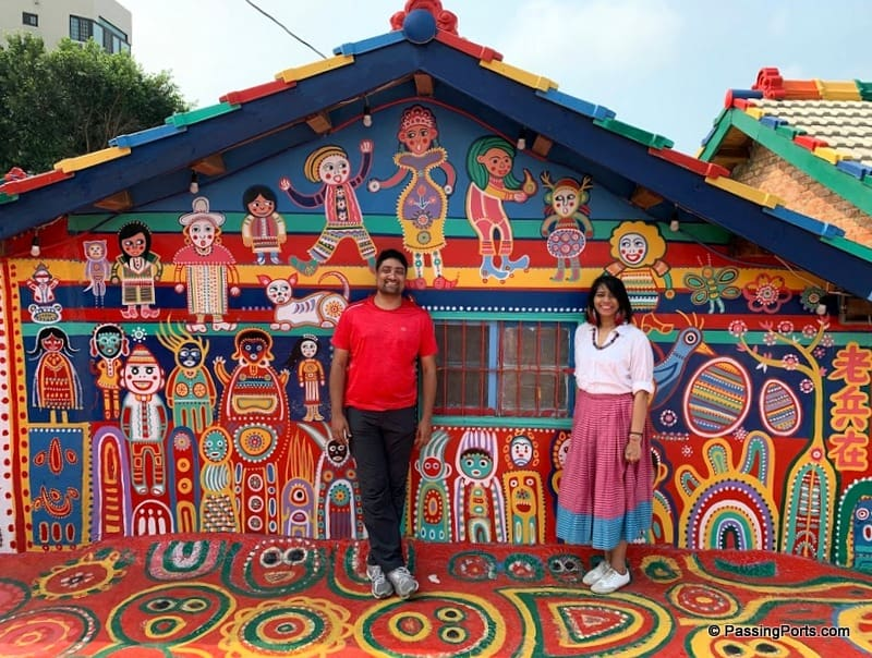 Rainbow Village in Taichung