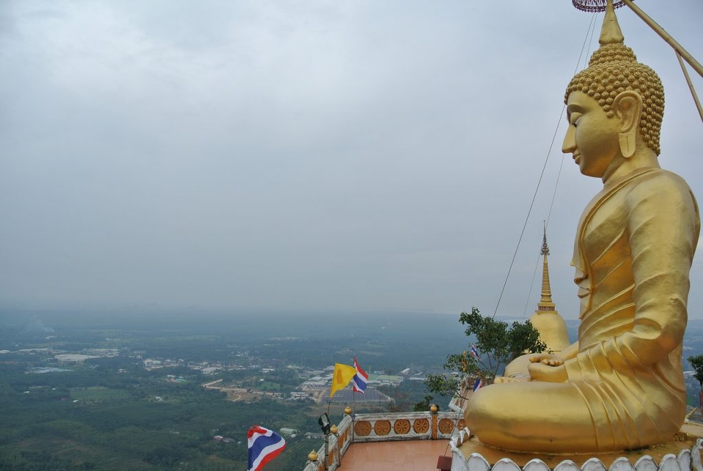 Buddha above Tiger Cave Temple