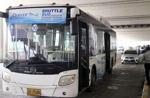 Bangkok free airport shuttle service