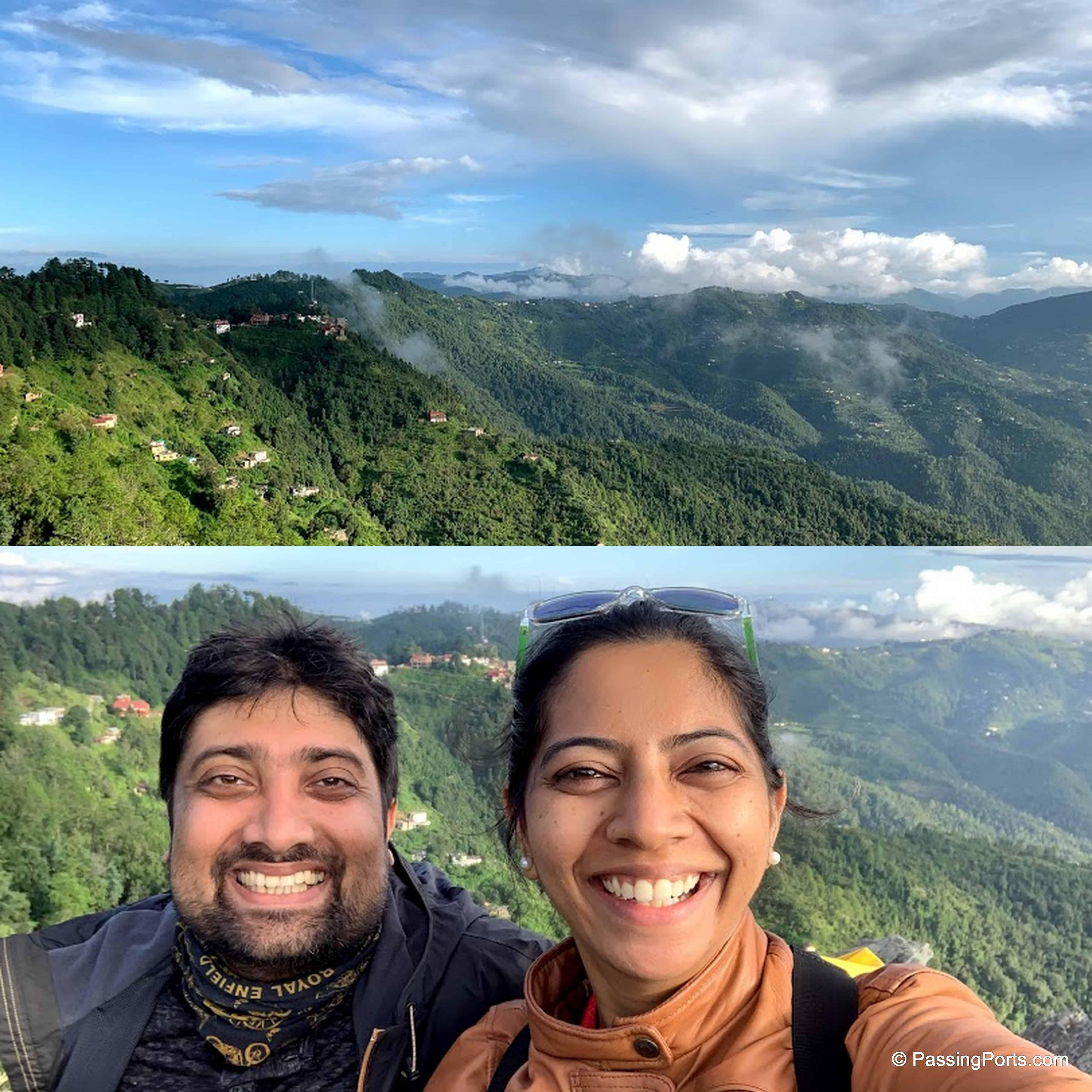 View point in Mukteshwar