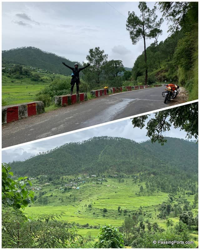 On the way to Almora