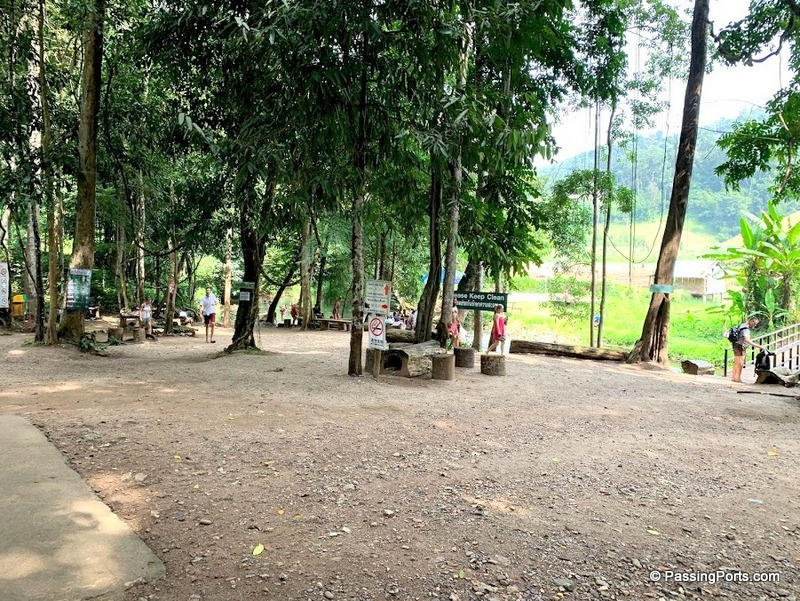 Ample space in Sai Ngam Hotspring
