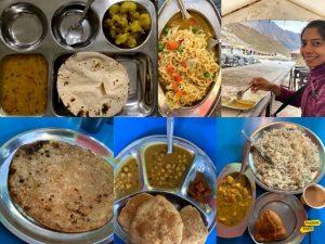 vegetarian food in Uttarakhand