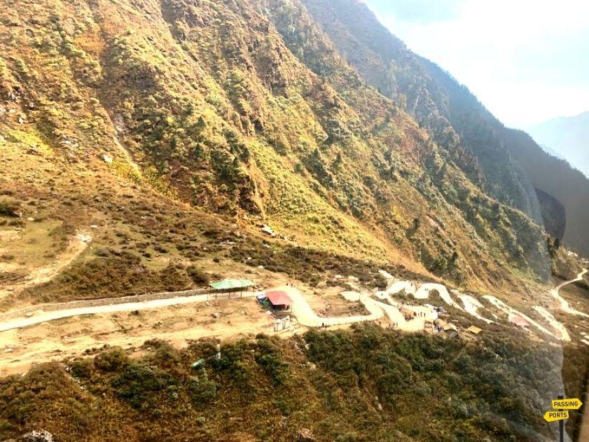 Walking Route Kedarnath