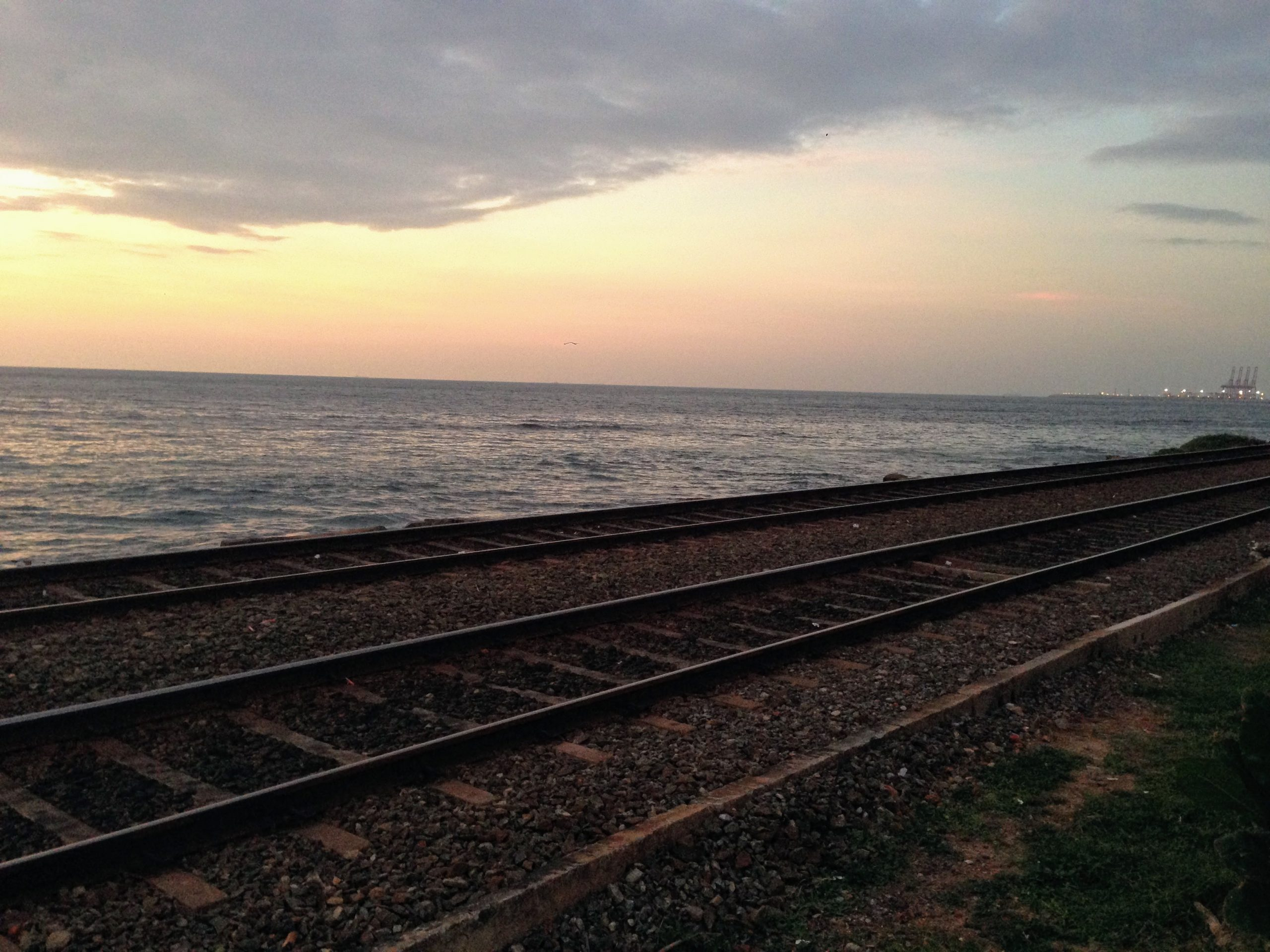 Sri Lanka railway tracks