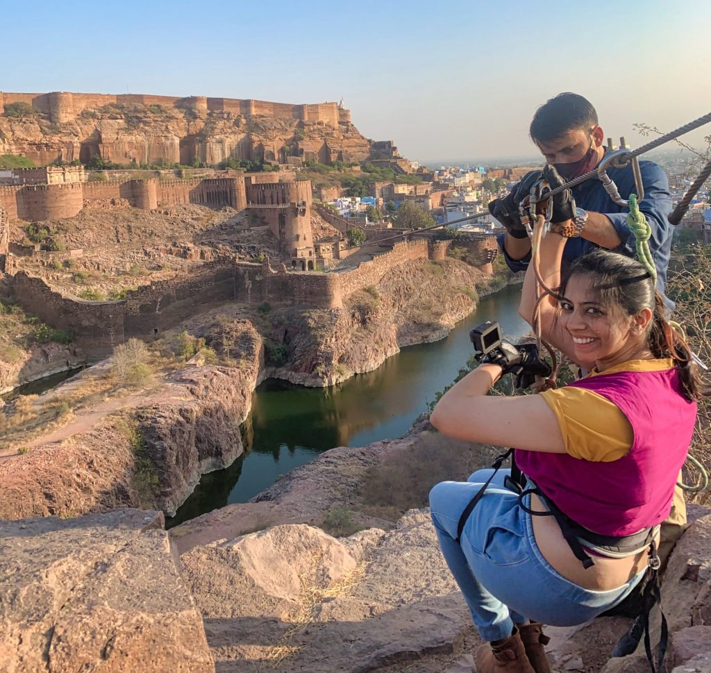 Ziplining with Flying Fox Jodhpur